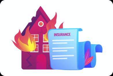 ②火災保険に加入済